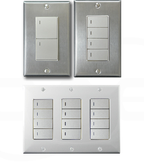 Various types of digital switches